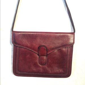 VTG Ann Klein Adjustable leather purse